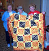Betty Linton, Peggy Shiels, Linda Meabon